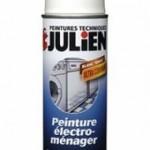 Peinture électroménager de la marque Julien